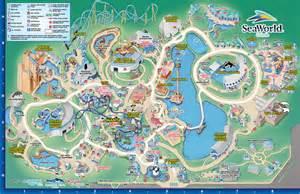 sea world florida map seaworld aquatica orlando park map
