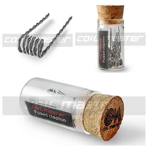 100 original coil master premium pre built coil flat twisted hive fused clapton mix twisted