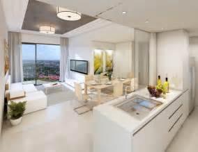 cuisine ouverte sur salon en 40 nouvelles id 233 es du moderne
