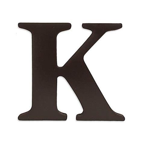 wooden letter k decor buy kidsline espresso wooden letter quot k quot from bed bath