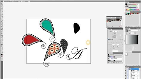 adobe illustrator paisley pattern how to make paisley vector graphics with adobe illustrator