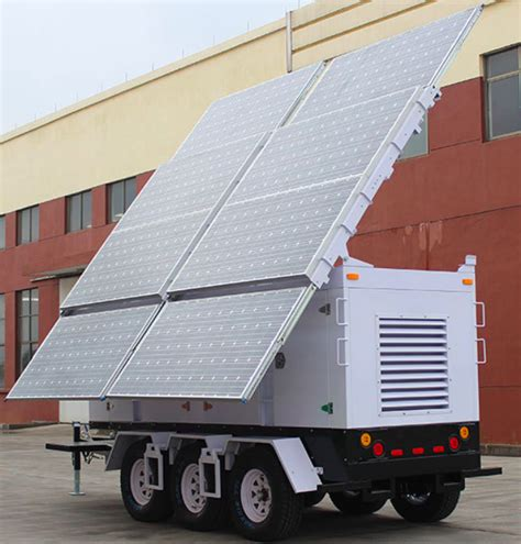 Solar L Post For Rv solar trailer