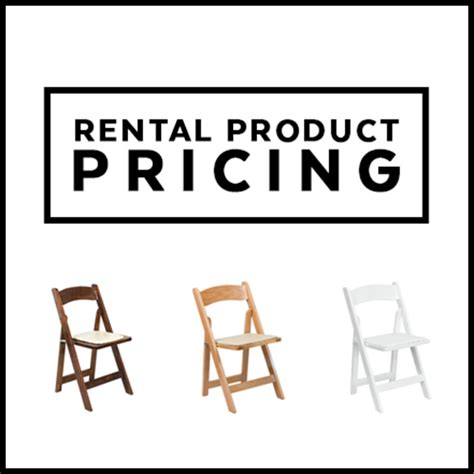 Chair Rental Prices by Oconee Events Wedding Rentals Tents Stylish