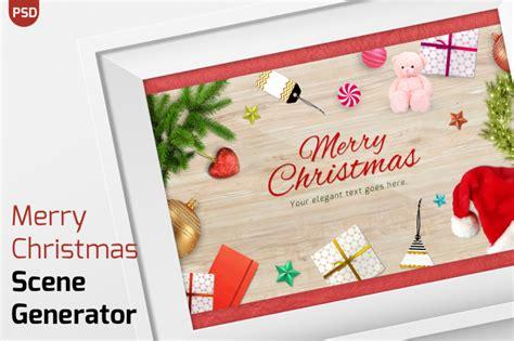 merry christmas items scene generator  vito thehungryjpegcom