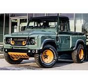 Land Rover Defender Pick Up Por Kahn Design  Autocosmoscom