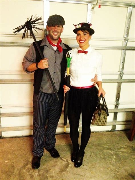 couples halloween costume mary poppins  bert dress