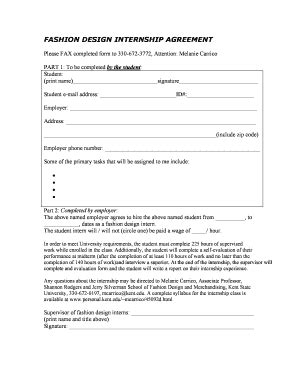 fashion designer contract template how to prepare agreement letter of fashion designer