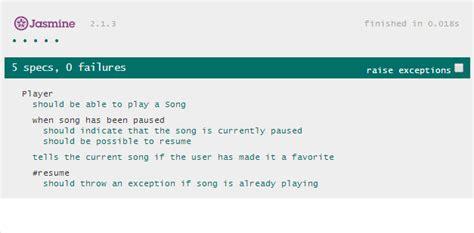 jasmine tutorial javascript testing adam cameron s dev blog javascript jasmine for unit testing