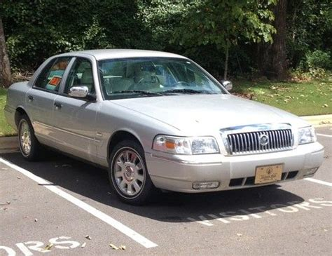 how make cars 2007 mercury grand marquis security system purchase used 2007 mercury grand marquis 4 door sedan silver leather seats 19 000 miles in troy