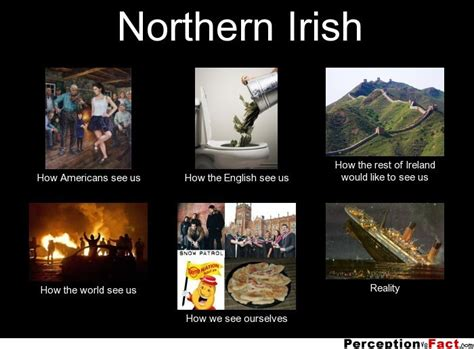 northern irish what people think i do what i really