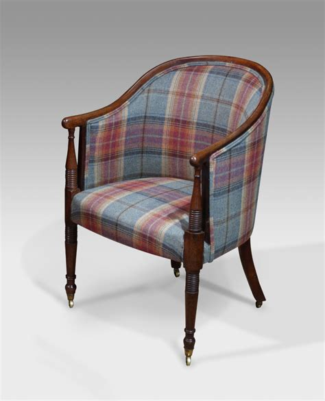 antique tub chair mahogany upholstered chair antique