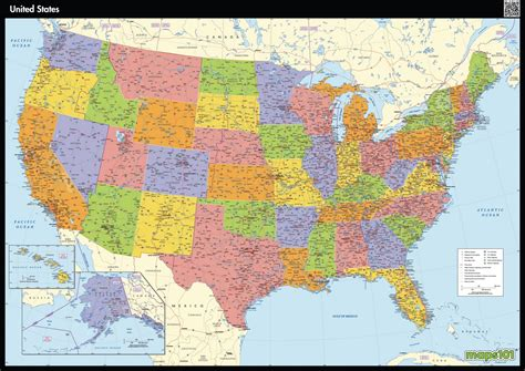united states map map of united states maps
