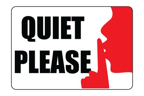 Printable Quiet Signs | printable quiet please sign pdf free download for