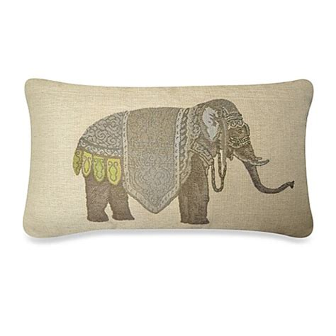 bed bath and beyond decorative pillows olifant oblong throw pillow bed bath beyond