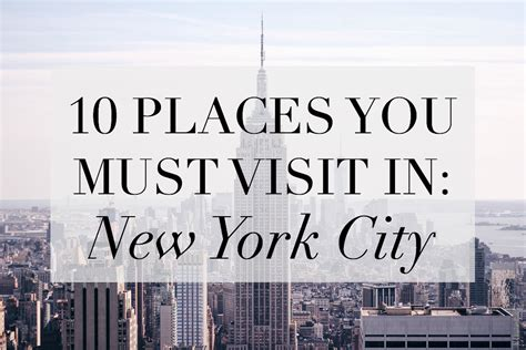 where to stay in new york for new years 10 places you must visit in new york city where will i