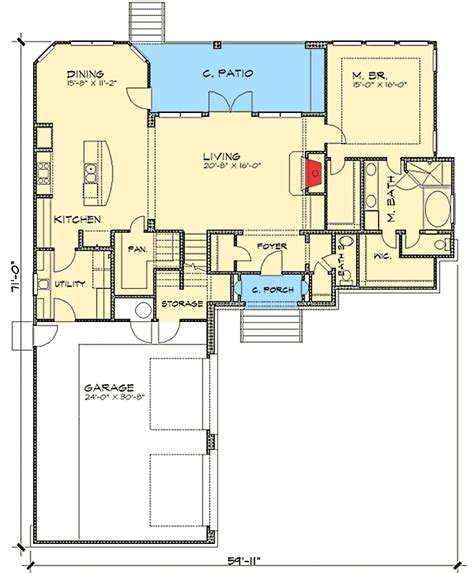 villa house plans floor plans 3 bedroom tuscan villa house plan 36803jg 1st floor