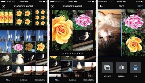 instagram magazine layout instagram launches photo collage app quot layout quot pc tech