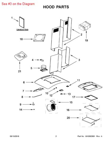 Chimney Parts And Supplies - chimney part w10351830 appliance parts and supplies