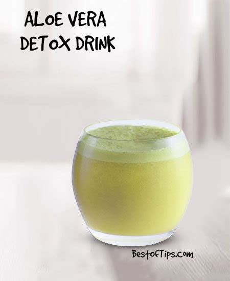 Time Aloe Detox Drink Recipe by Aloe Vera Detox Drink Recipe Bestoftips