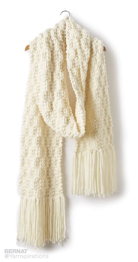 how to check your in knitting bernat rib check knit scarf knit pattern