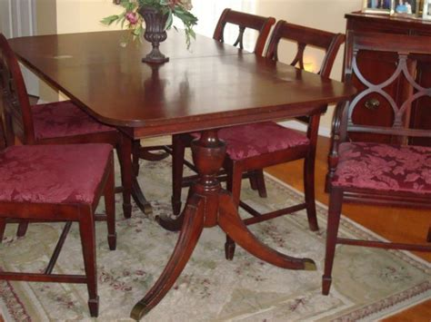 Elegant Dining Room Set by Duncan Phyfe Furniture The Real Vs The Reproduction