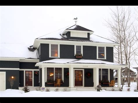 square home exterior classic american four square traditional exterior minneapolis by brenner