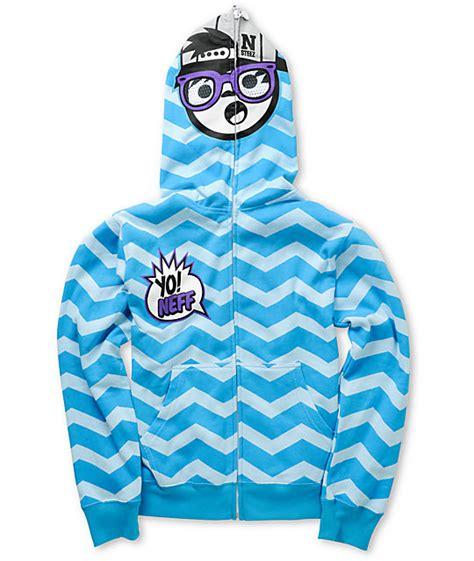 Sweater Hoodie Reebok Must Yomerch neff boys yo zig blue zip mask hoodie
