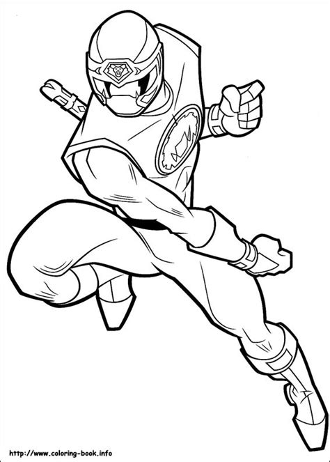 coloring pages of time force power rangers power rangers coloring picture