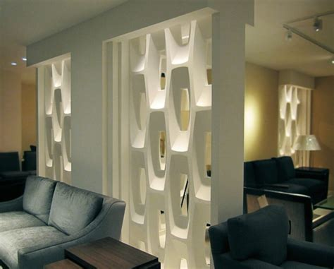 interior partition wall show stopping sculptural partition walls digsdigs
