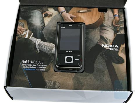 More Details On Nokias N81 Handset by Nokia N81 8gb Review