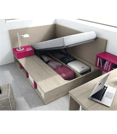 cama con almacenaje m 225 s de 1000 ideas sobre almacenaje camas plataforma en