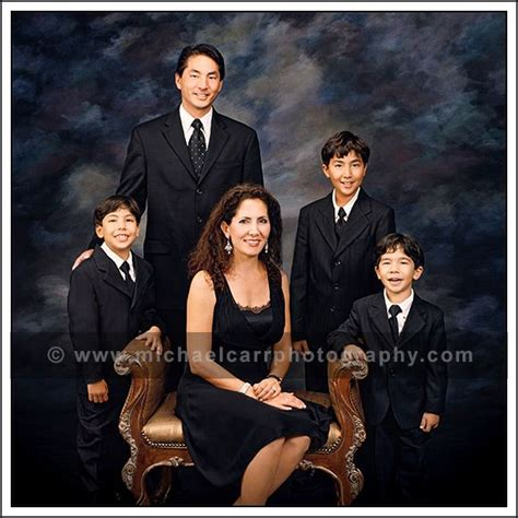 Formal Wear Family Pictures
