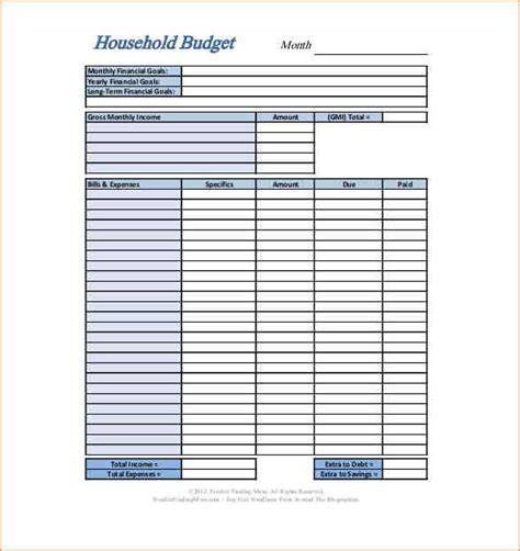 home design budget template 17 free budget templates formal letter