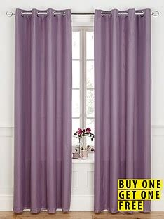 buy one get one free curtains eyelet lined voile panel buy one get one free