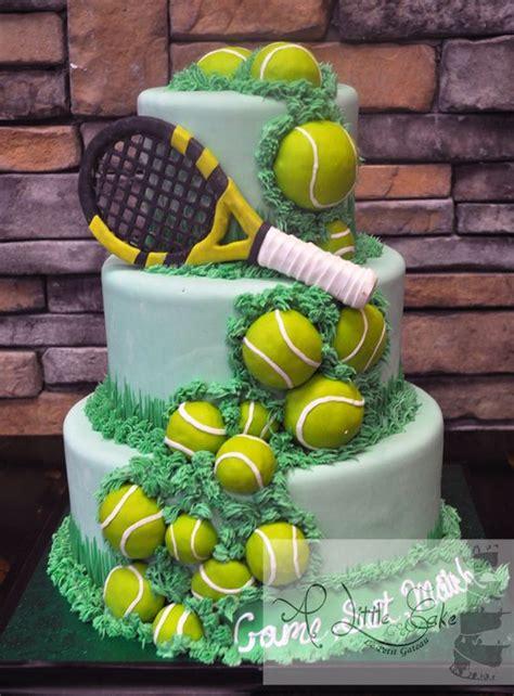 tennis themed cakes tennis cake ideas