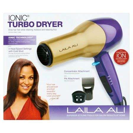 Laila Ali Hair Dryer laila ali ionic turbo dryer walmart