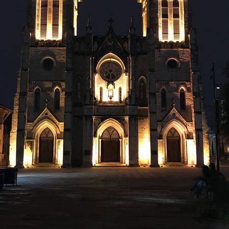 san fernando cathedral san antonio light light schedule picture of the light at the san