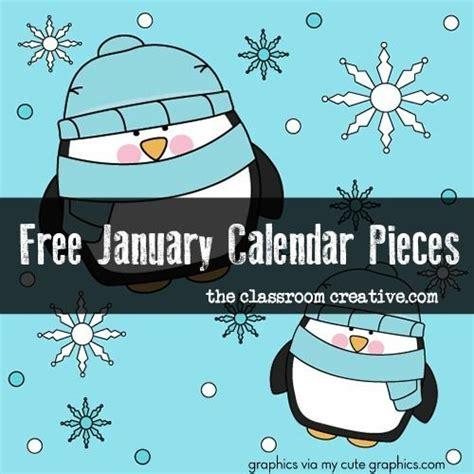 printable calendar pieces 0 free printable january calendar pieces super cute