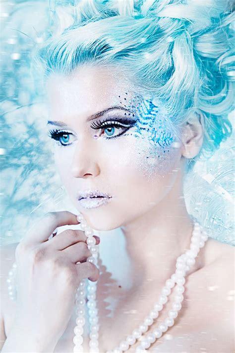 hair and makeup queens snow queen hair and makeup halloween pinterest