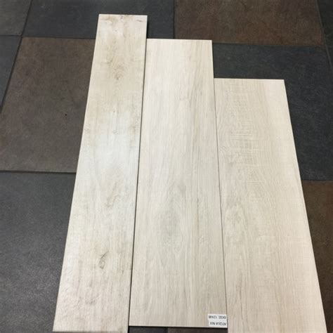 rectified vs non rectified wood look plank porcelain