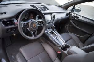 Porsche Macan Interior Porsche Says Macan Could Become Best Selling Model In U S