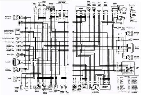 suzuki wiring diagram motorcycle suzuki vs700 intruder motorcycle 1987 complete electrical wiring diagram us and canada all