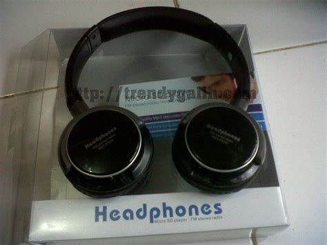 Headphone Tanpa Kabel headphone micro sd player headphone fleksibel berkualitas tinggi trendy galih