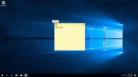 windows 10 pictures tutorial windows 10 sticky notes tutorial