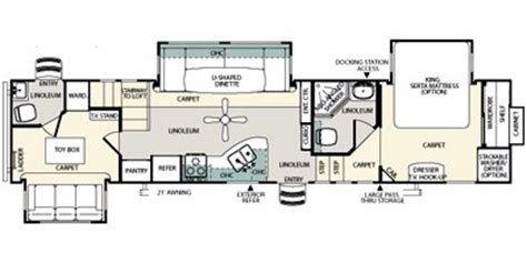 sierra rv floor plans 2010 forest river sierra 35loft comparison compare trailers