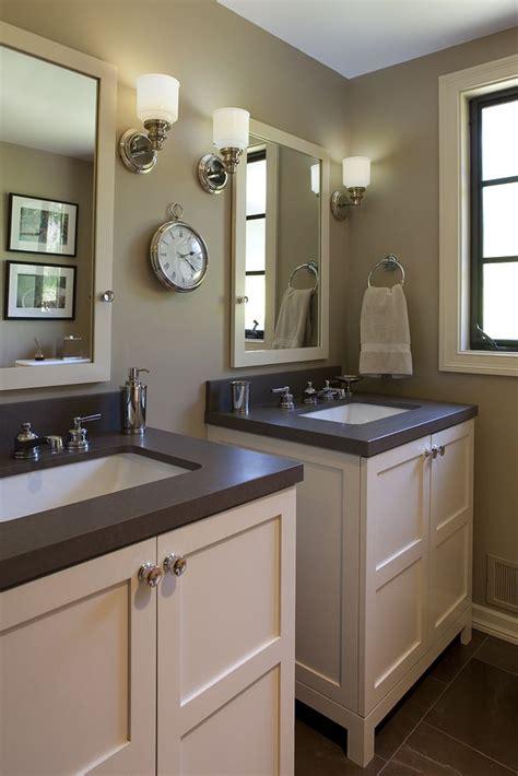 vanities side  side   big  bathrooms