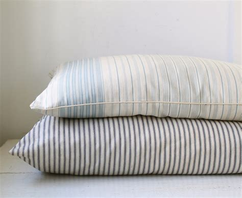 vintage 1950s farmhouse feather pillow with by