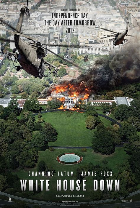 white house down sequel white house down poster heyuguys