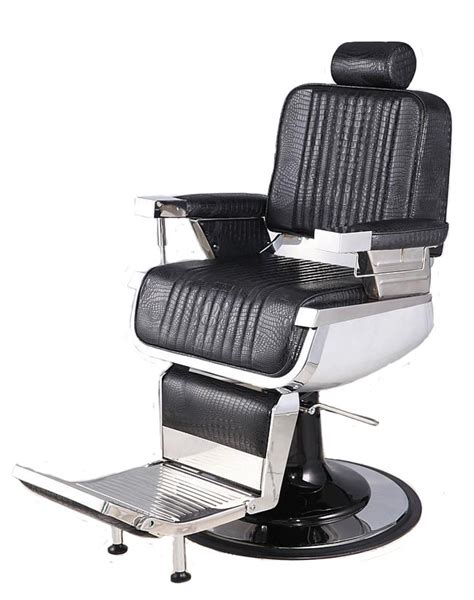In Barber Chair by Quot Constantine Quot Barber Chair In Crocodile