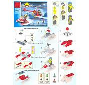 Fire Rescue мод 902  01 Lego Instructions